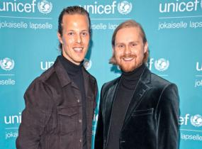 Jere Mattila ja Leo Hakanen tekevät konemusiikkia.