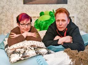 Mari ja Asko Tenhula tunnetaan Unelmahäät-ohjelmasta.