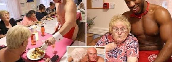 """Vanhainkodin naiset saivat kuumaa ruokaseuraa - Joan, 89, tuhman illallisen takana! """"Toivoi päivästä toiseen miestä"""""""