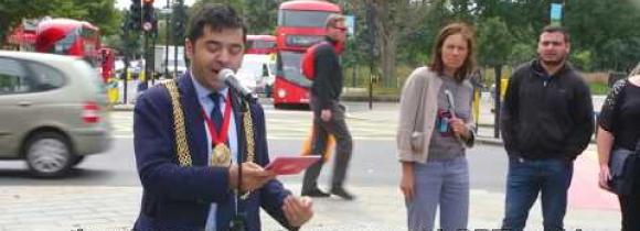 Seksuaalivähemmistöt saivat oman suojatien Lontooseen